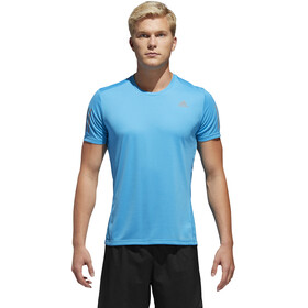 adidas Own The Run Koszulka Mężczyźni, shock cyan/reflective silver